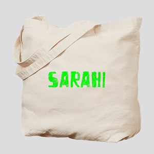 Sarahi Faded (Green) Tote Bag